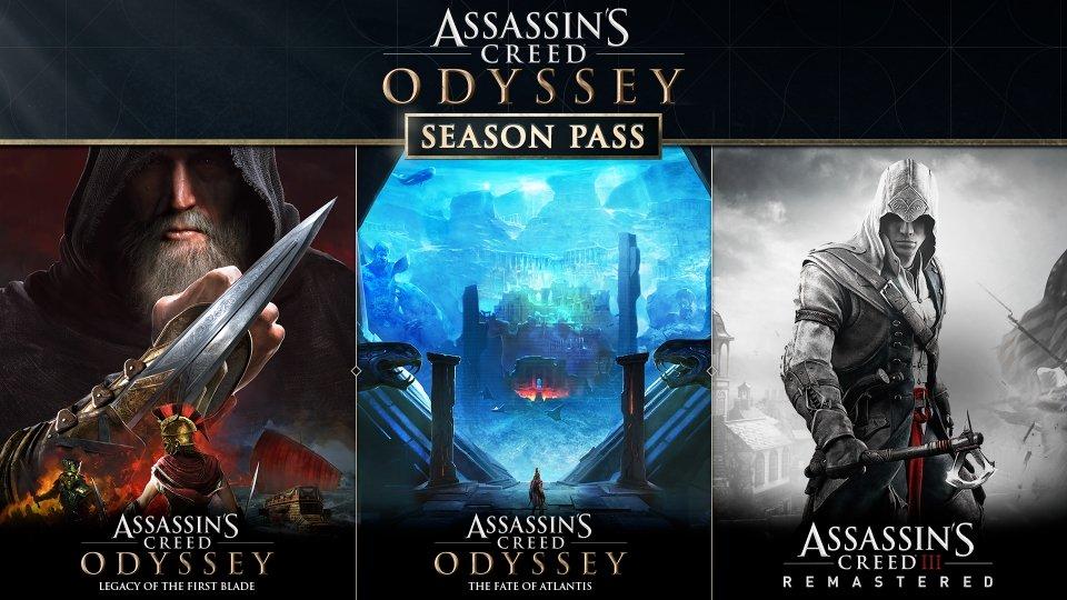 Season Pass pour Assassin's Creed Odyssey sur PC (Dématérialisé - Uplay)