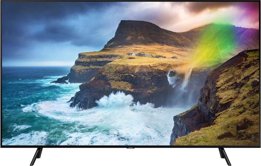 "TV QLED 55"" Samsung QE55Q70R 2019 - Full Led, 100 Hz, HDR 1000, smart TV (Frontaliers Suisse)"