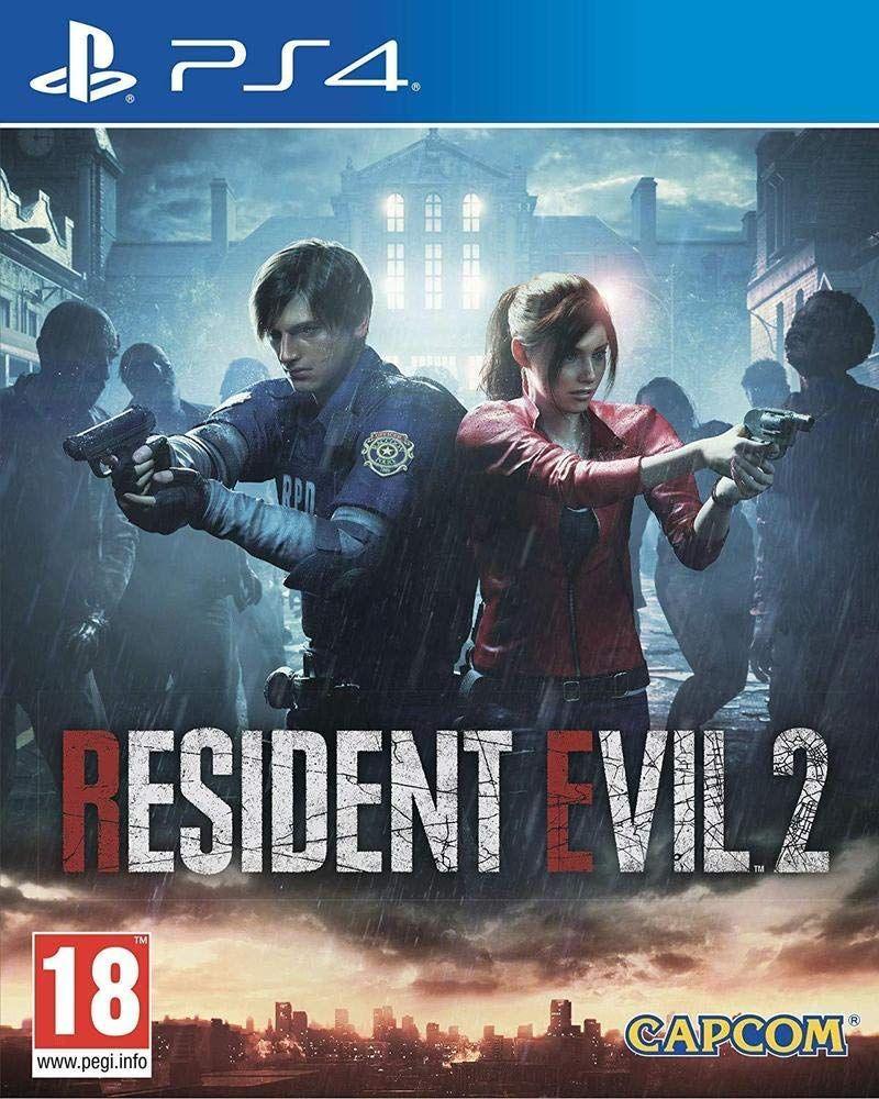 Resident Evil 2 sur PS4 et Xbox One (Import UK)