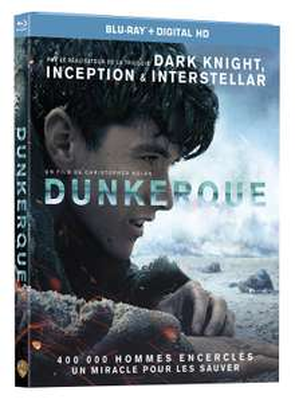 Dunkerque Blu Ray + Digital HD