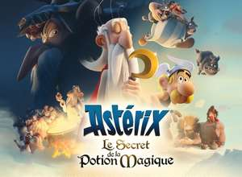 Film Astérix : Le Secret de la Potion Magique - 4K HDR + iTunes Extras (Dématérialisé)