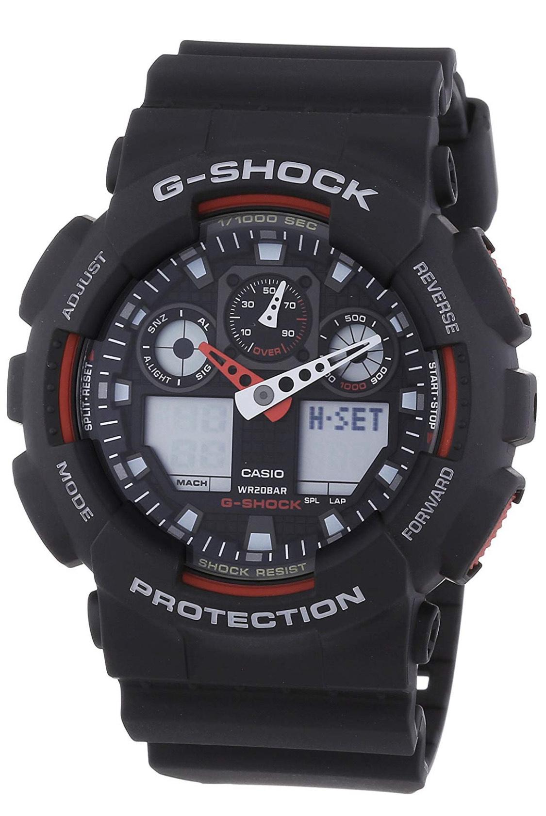 Montre Analogique Homme Casio G-Shock GA-100