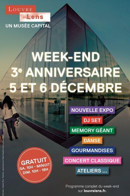 Entrée gratuite au Musée Louvre-Lens les 5 et 6 décembre 2015