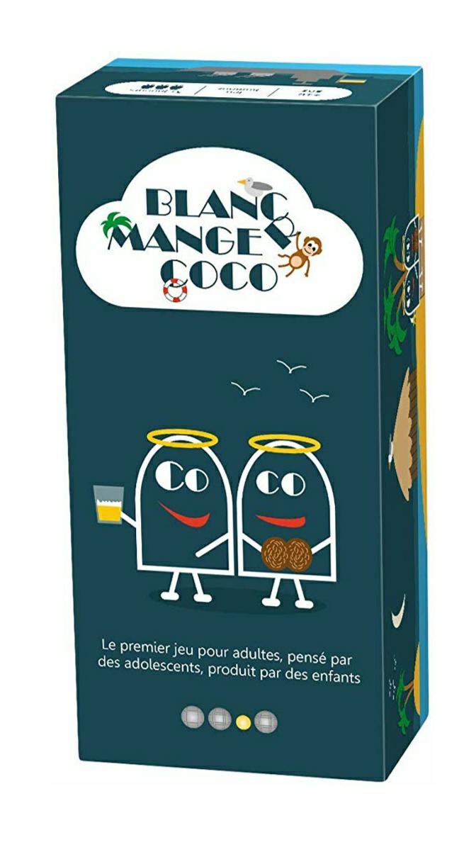 Jeu original Blanc-Manger Coco - 600 Cartes