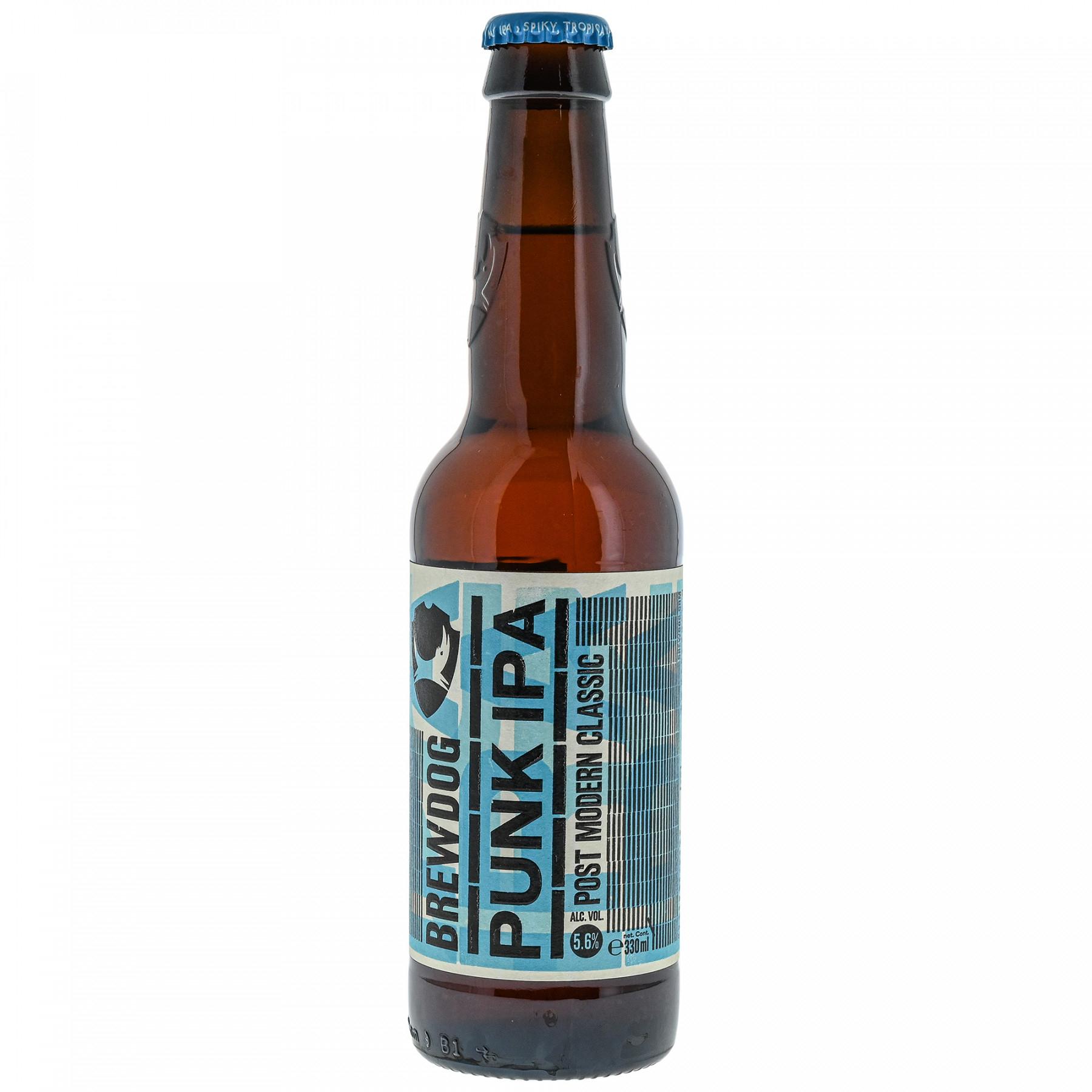 3 Bières Blondes BrewDog Punk Ipa - 33cl