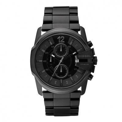 Sélection de montres Diesel en promotion - Ex : Montre Chronographe Master Chief Noire