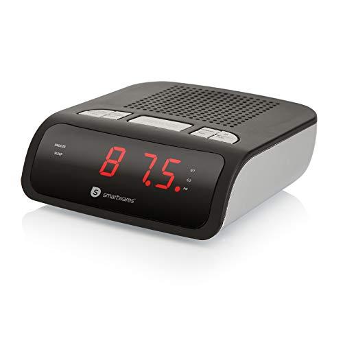 Radio-réveil Smartwares CL-1459 – Double alarme, Radio FM