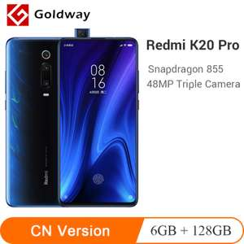 "Smartphone 6.39"" Xiaomi Redmi K20 Pro - Full HD+, SnapDragon 855, RAM 6Go, 128Go, 4G (Sans B20/B28)"