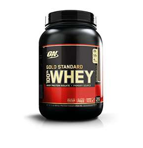 Pot Whey de Optimum Nutrition 100% Protéine Gold Standard - 0,9Kg