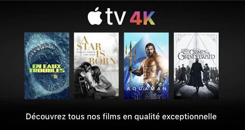 Sélection de Films/Bundles en UHD 4K / HDR à partir de 4,99€ (Dématérialisés) - Ex: bundle Aquaman / Justice League / Wonder Woman à 9,99€