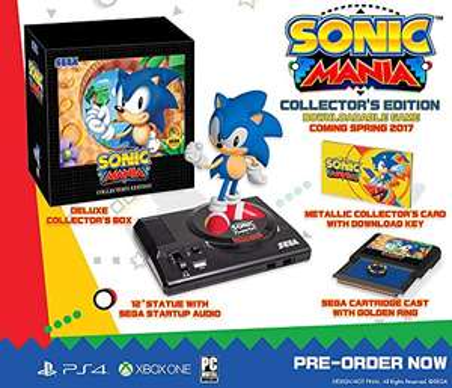 Sonic Mania : Edition Collector sur PS4