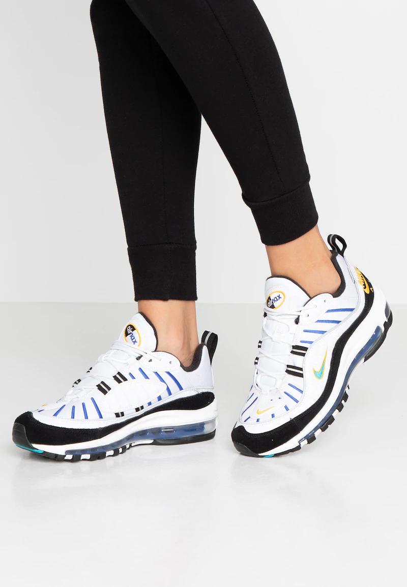 Baskets Nike Sportwear Air Max 98 PRM pour Femmes - Tailles au choix (80.71€ avec PROMOREVOIR)