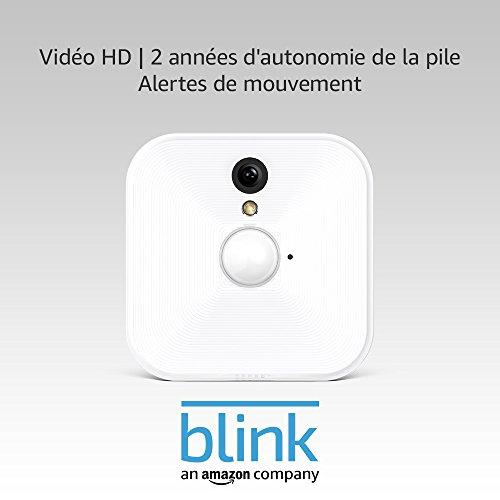 Caméra Additionnelle de Sécurité Intérieure pour Systèmes Blink