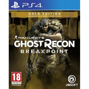 Ghost Recon Breakpoint Edition : Edition Gold sur PS4 (2,75€ en SuperPoints)