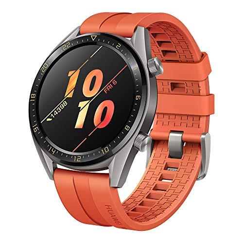 Montre connectée Huawei Watch GT Active - Orange, GPS, Boitier 46mm