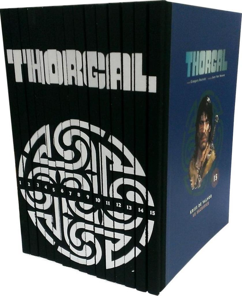 Coffret BD : Intégrale Collector Thorgal - 15 double albums