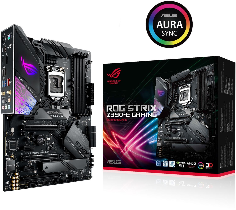 Carte mère Asus ROG Strix Z390-E Gaming - socket 1151
