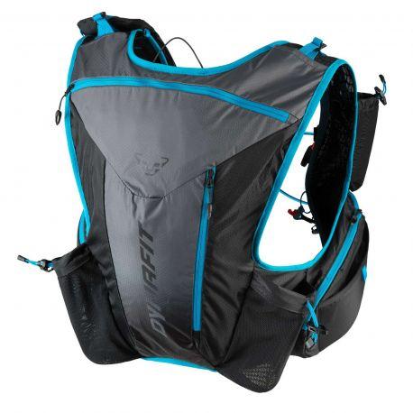 Sac à dos de trail Dynafit Enduro 12 L (bleu / noir) - TrailStore.fr