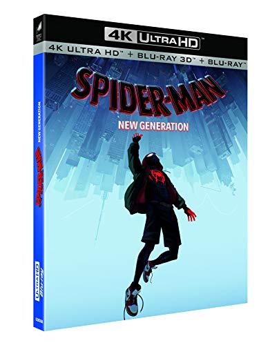 Blu-ray 4K Spider-Man : New Generation - Blu-ray 4K + Blu-ray 3D + Blu-ray 2D