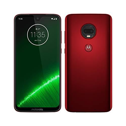 Smartphone 6,2' Motorola Moto G7 Plus (6,2 Pouces, 64Go ROM, Android 9.0) Bleu ou rouge
