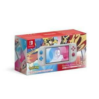 [Précommande] Console portable Nintendo Switch Lite Pokémon Épée + Bouclier - Édition Zacian & Zamazenta