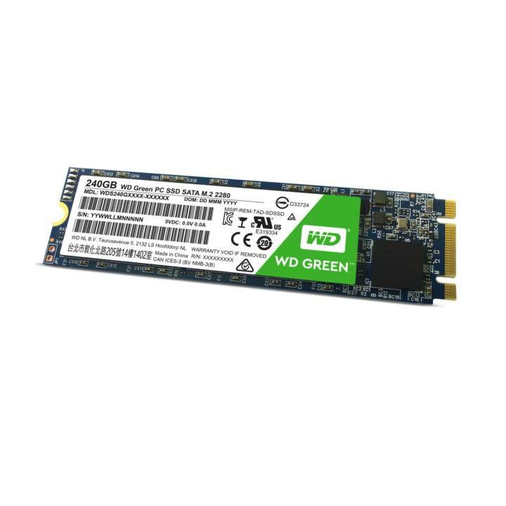 SSD interne M.2 SATA Western Digital WD Green - 240 Go (Frontaliers Suisse)