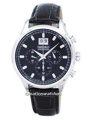 Montre chronographe Seiko SPC083P2 (frais de douanes inclus)