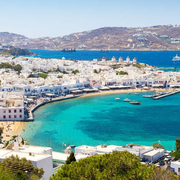 Vol A/R Paris (ORY) <=> Mykonos (JMK) en Grèce - du 14 au 22 juillet 2020