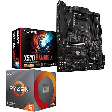 Kit d'évolution PC - processeur AMD Ryzen 5 3600 (3.6 GHz) + carte-mère Gigabyte X570 Gaming X + 3 mois d'abonnement au Xbox Game Pass