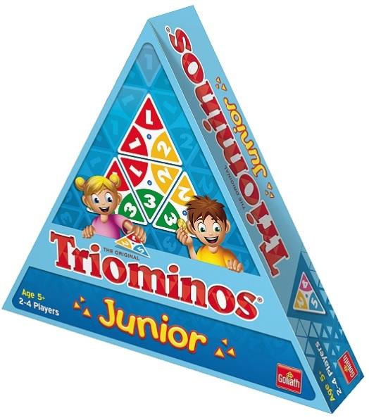 Jeux Triominos junior + No Panic + Croc Dog + Hop-là Banana (via 16€ sur la carte + ODR de 50€)