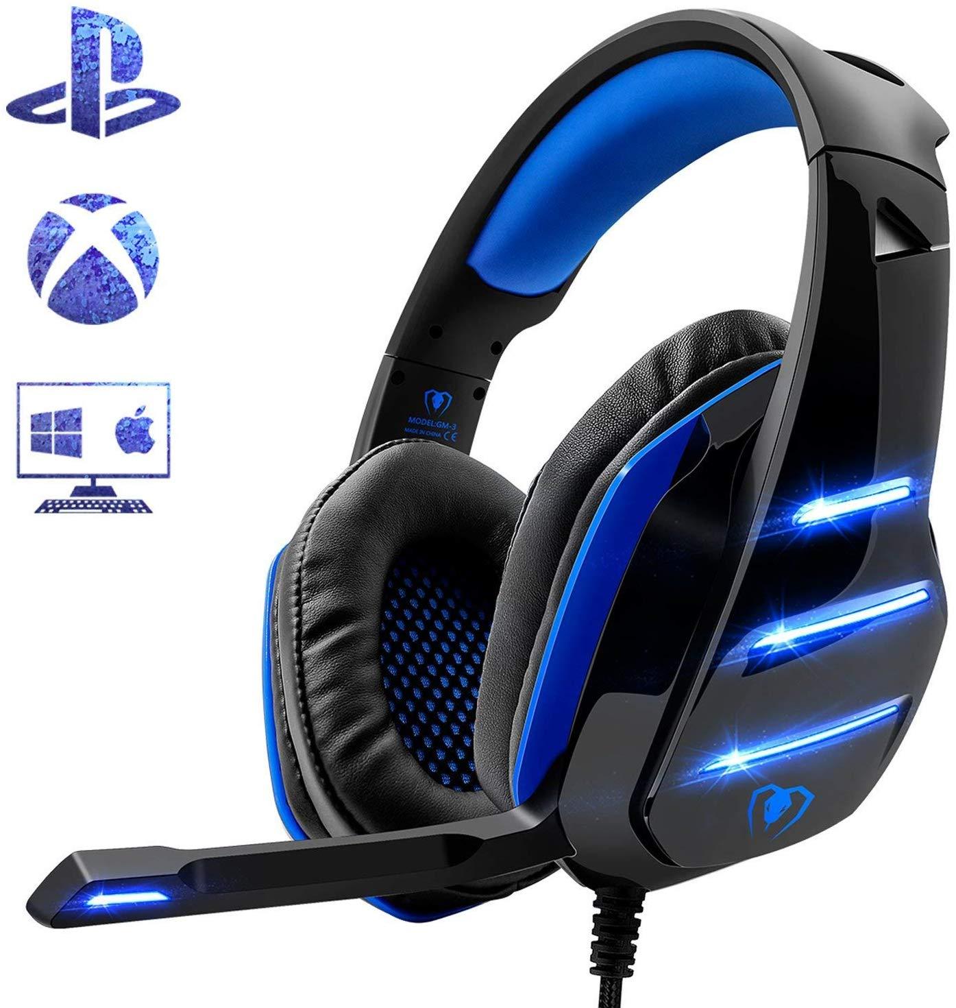 Micro Casque Gaming Beexcellent pour PC / PS4 (vendeur tiers)