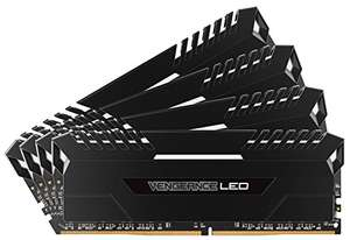 Kit Mémoire Corsair PC Vengeance LED - 64 Go (4 x 16Go) DDR4, 3000Mhz, C15