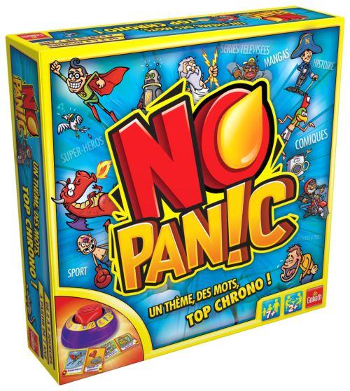 Lot de 4 jeux de société Goliath : Triominos Junior + No Panic + Hop la Banane + Burger Party (via ODR de 50€)
