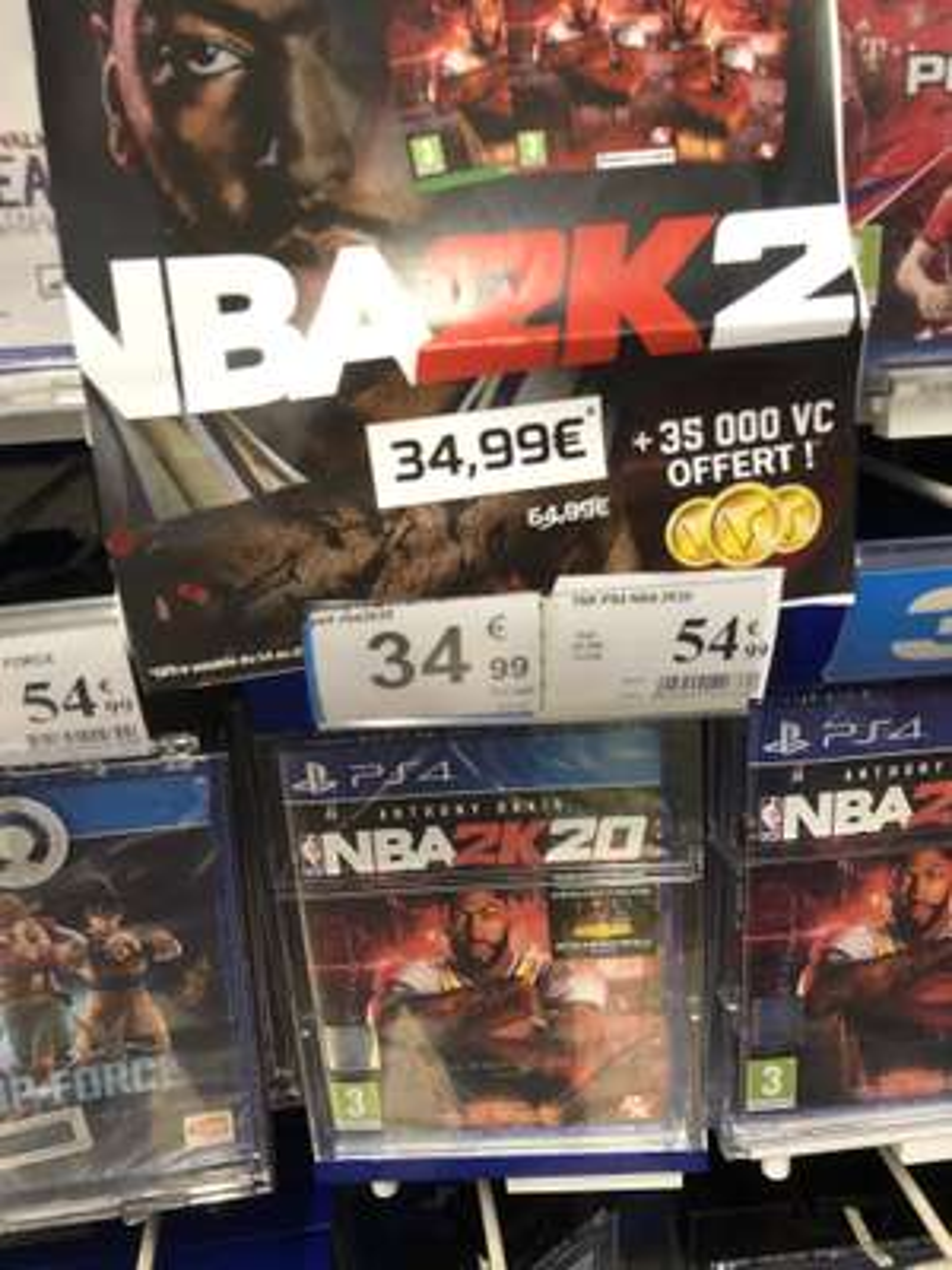 NBA 2K20 + 35000 VC sur PS4 - Pérols  (34)