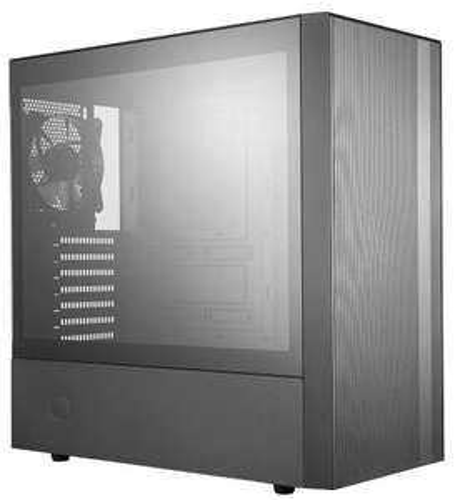 Boîtier NR600 Cooler Master (ATX, panneau verre trempé, 2 ventilateurs)