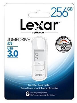 Clé USB 3.0 Lexar Jumpdrive S75  - 256 Go