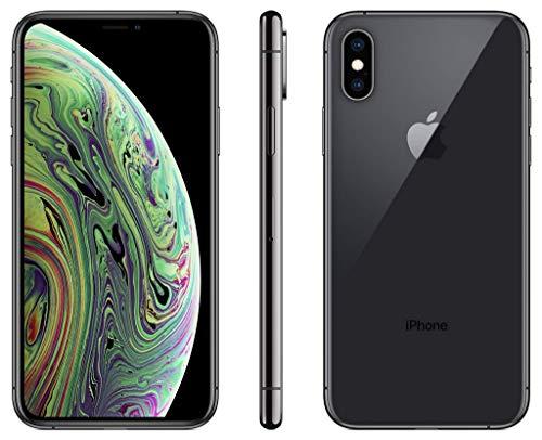 "Smartphone 5.8"" Apple iPhone XS - Full HD+, A12, 4 Go de RAM, 64 Go, Gris Sidéral"