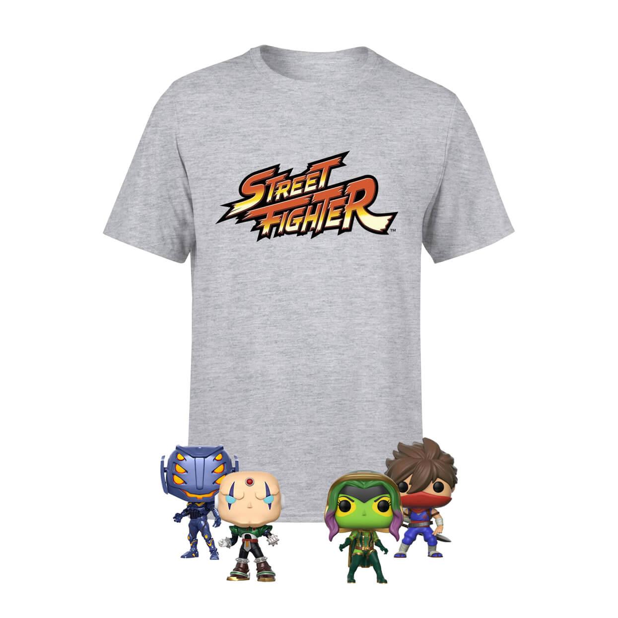 Marvel Vs Capcom Bundle - Team Capcom (4 figurines Funko POP! + T-shirt)