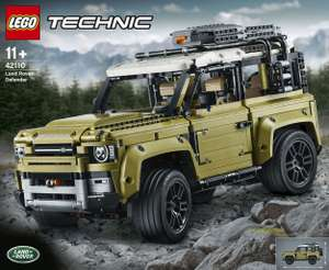 Sélection de jeux de construction Lego technic en promotion - Ex: Lego Technic 42110 - Land Rover Defender (Frontaliers Suisse)