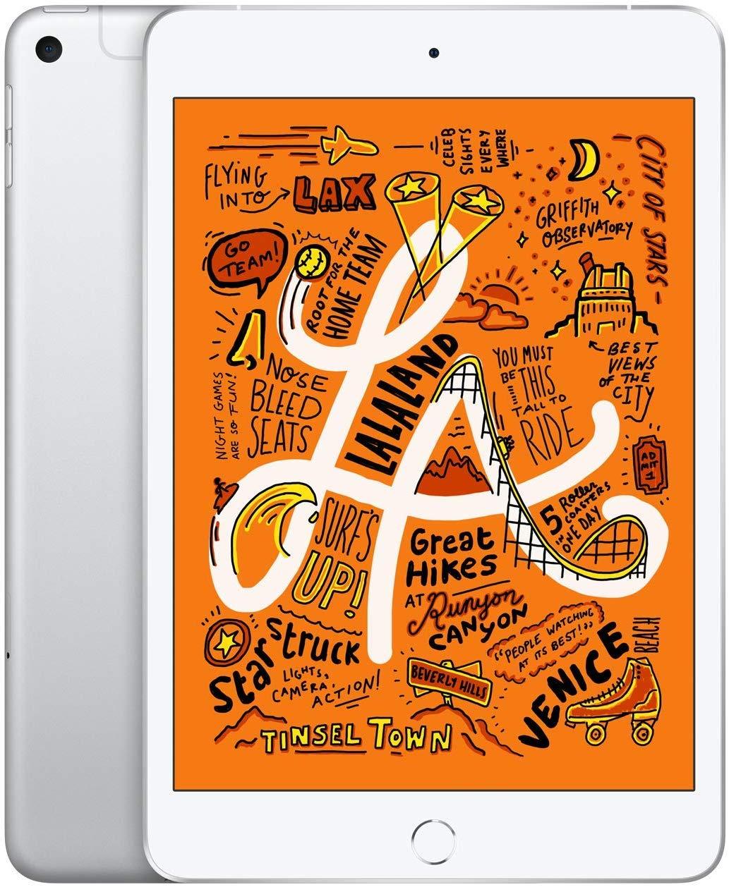 "Tablette 7.9"" Apple iPad Mini 5 (WiFi + Cellular) -  256 Go, Argent"