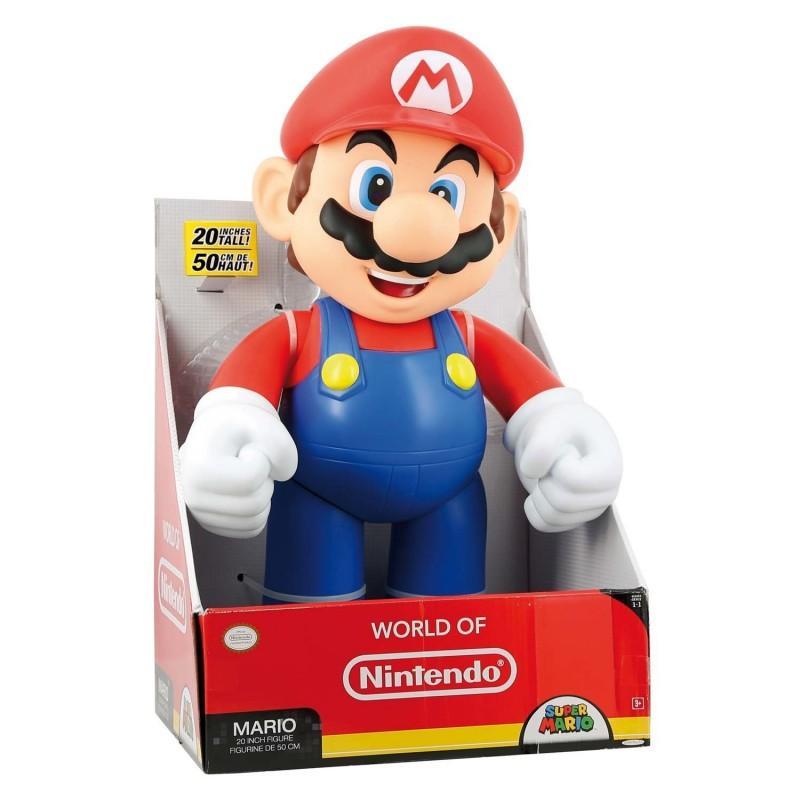 50% de crédités sur la carte pour une figurine Mario de 50cm