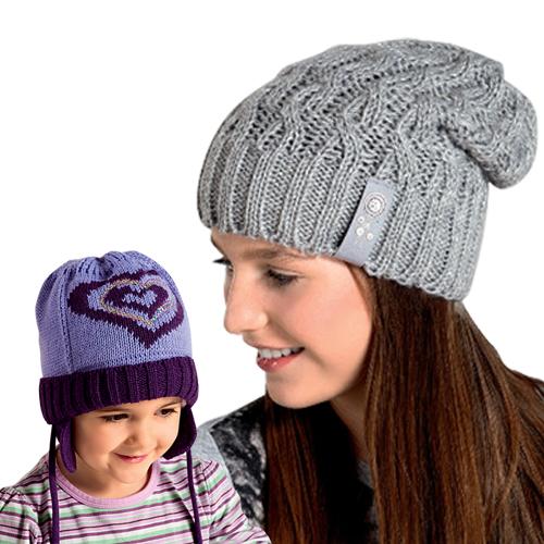 Bonnet en laine - différents modèles