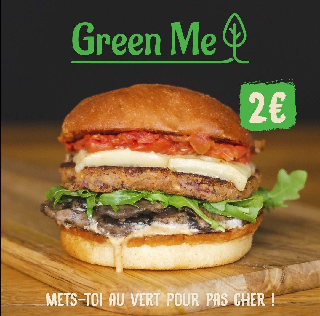 Burger Veggie Green Me - Roadside