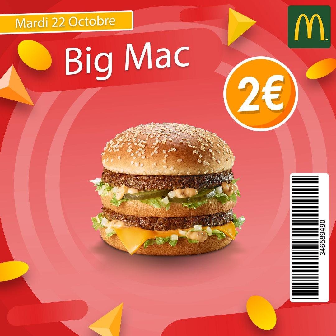 Hambuger Big Mac - Châtillon (92)