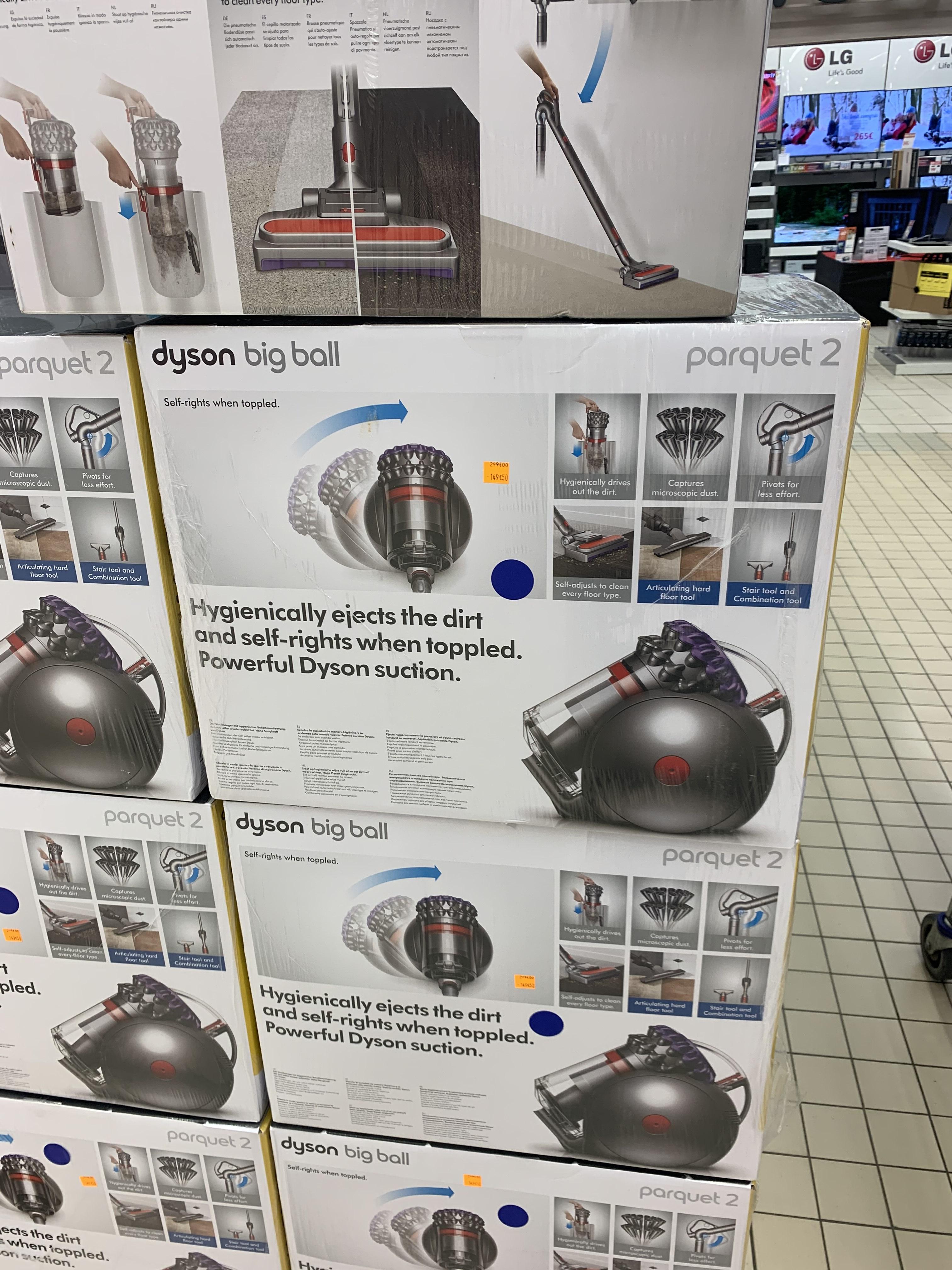 Aspirateur traîneau sans-sac Dyson Big Ball Parquet 2 (600 W) - Quimper (29)