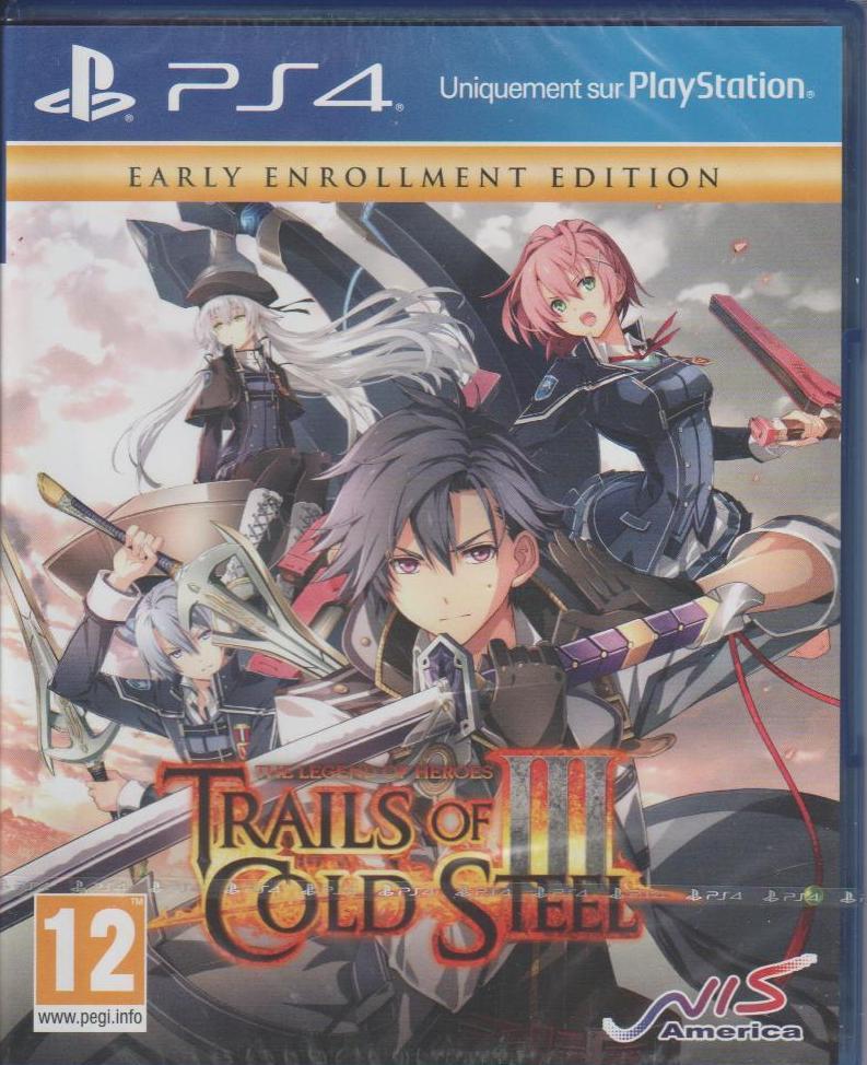 Jeu Trails of Cold Steel 3 sur PS4 - Wasquehal (59)