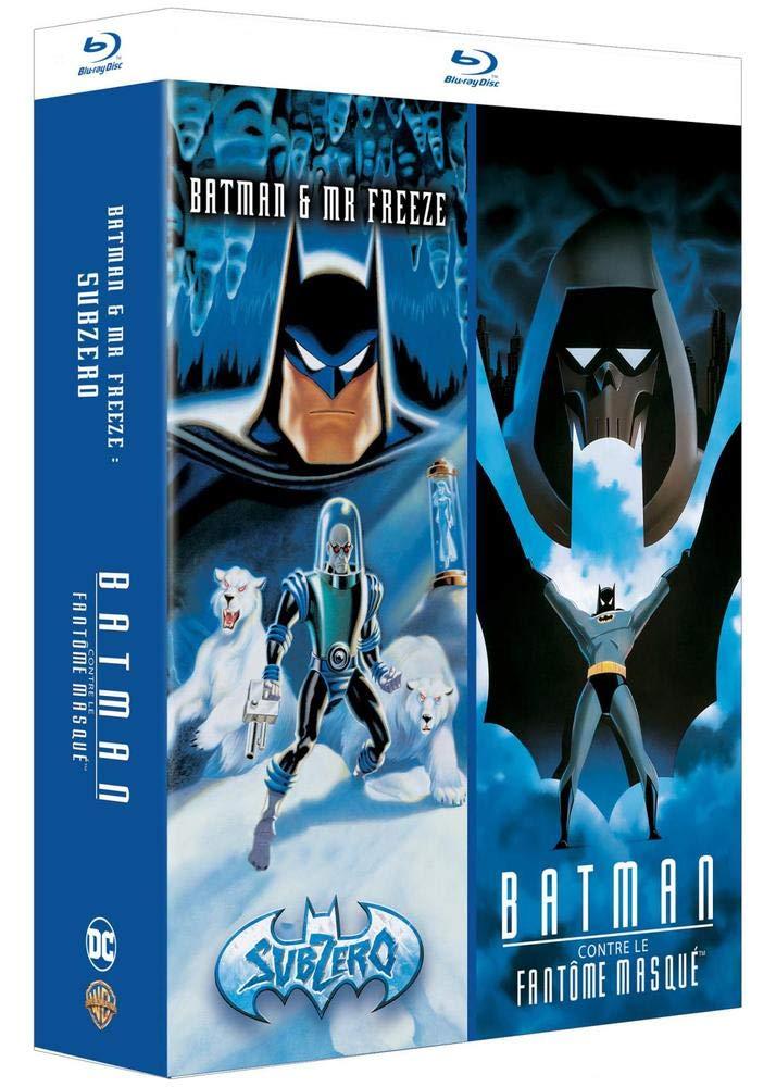 Coffret Blu-Ray DC Comics - 2 Films Animés Batman