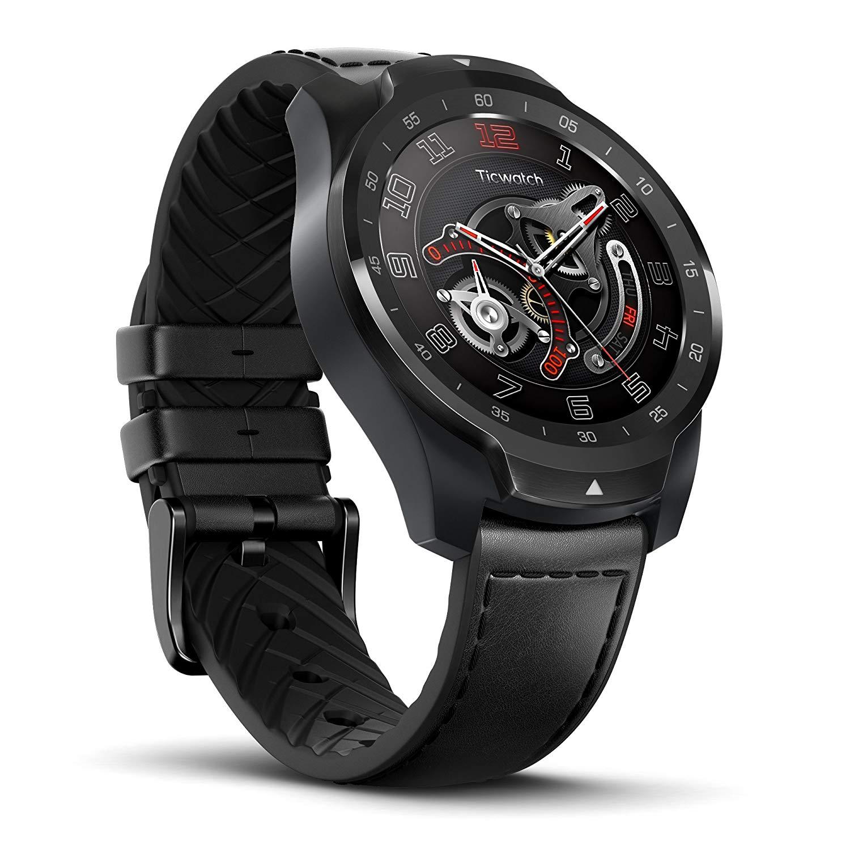 Montre connectée Mobvoi Ticwatch Pro - Noir (Via Coupon - Vendeur Tiers)