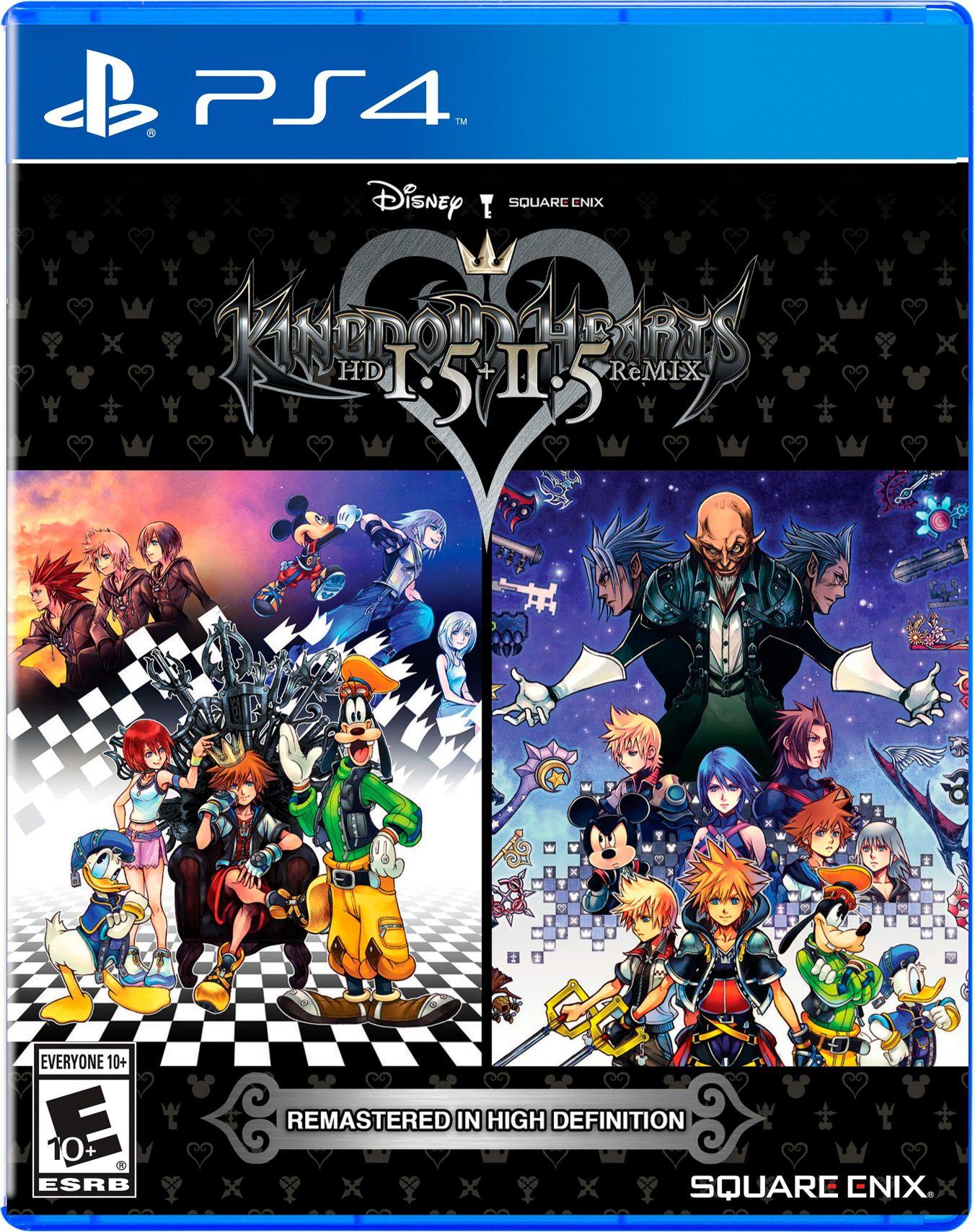 Kingdom Hearts HD 1.5 + 2.5 ReMIX sur PS4 (+ Jusqu'à 2.25€ en SuperPoints)