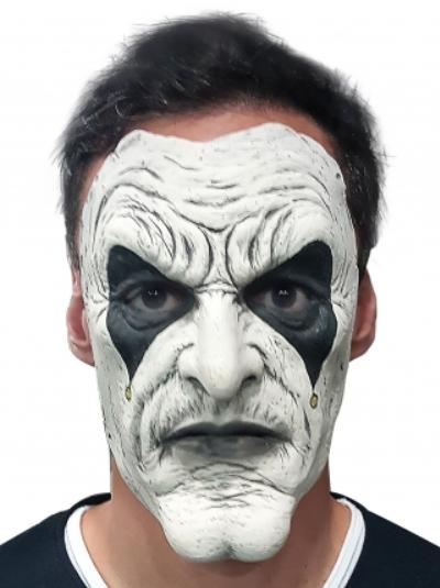 Masque Latex Arlequin pour Adultes (Frais de Livraison Inclus)